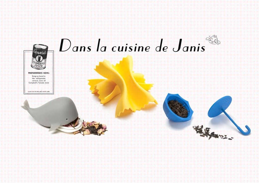 JANIS-EN-SUCRE - Cuisine 201