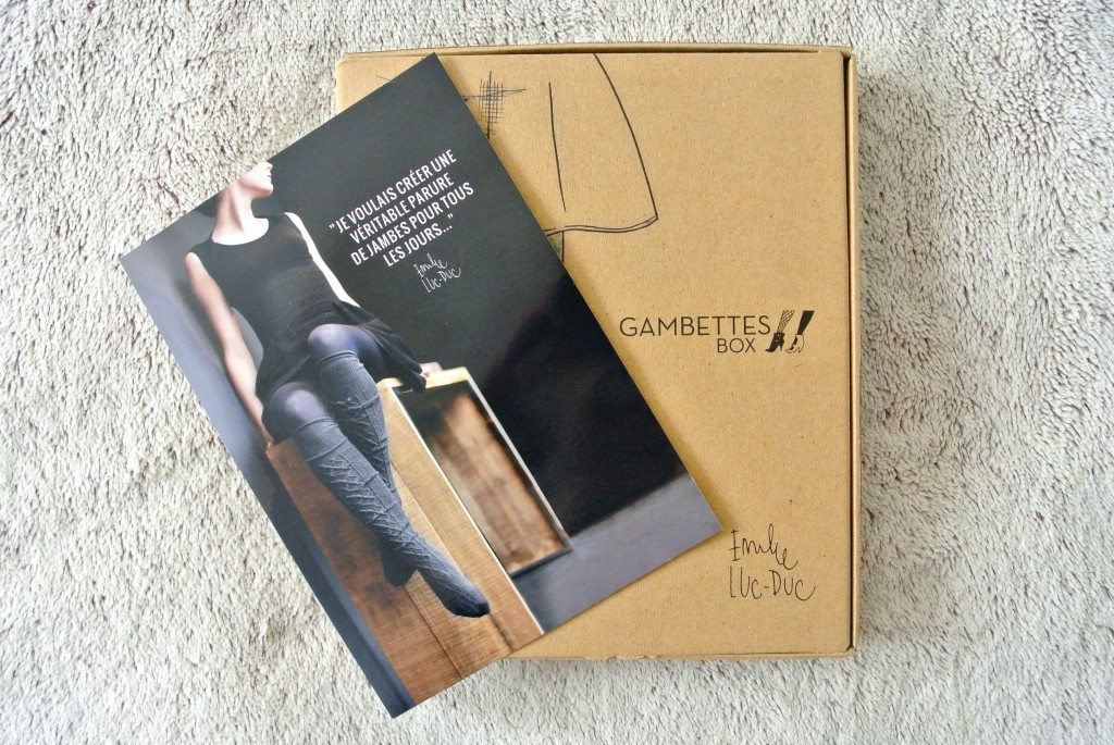 JANIS-EN-SUCRE - Gambettes box 08