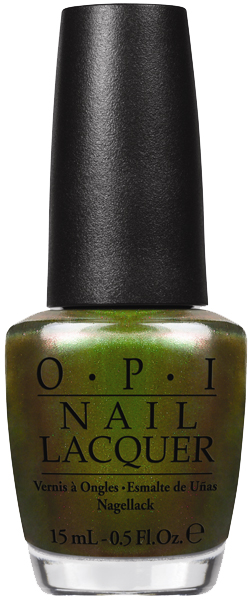 JANIS-EN-SUCRE - OPI COCA 07 - OPI-Green-on-the-Runway