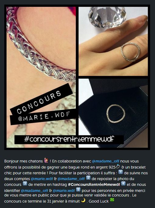 CONCOURS - Marie