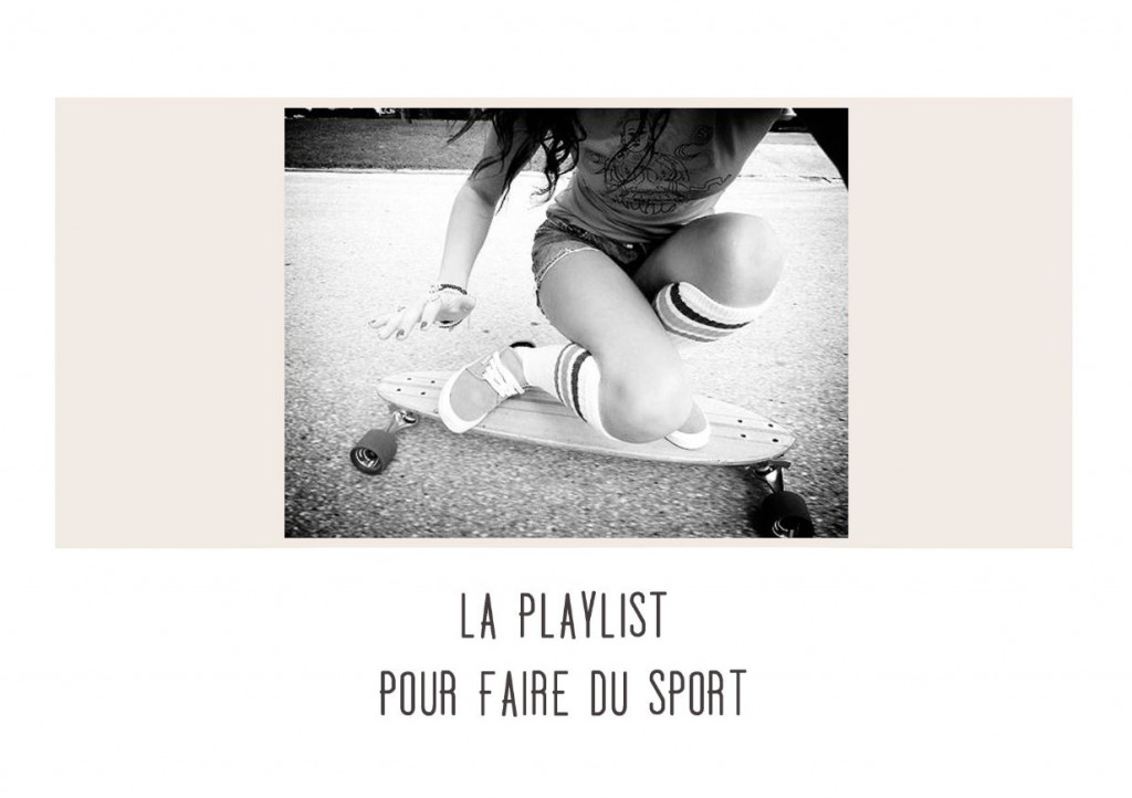 la playlist pour faire du sport janis en sucre. Black Bedroom Furniture Sets. Home Design Ideas