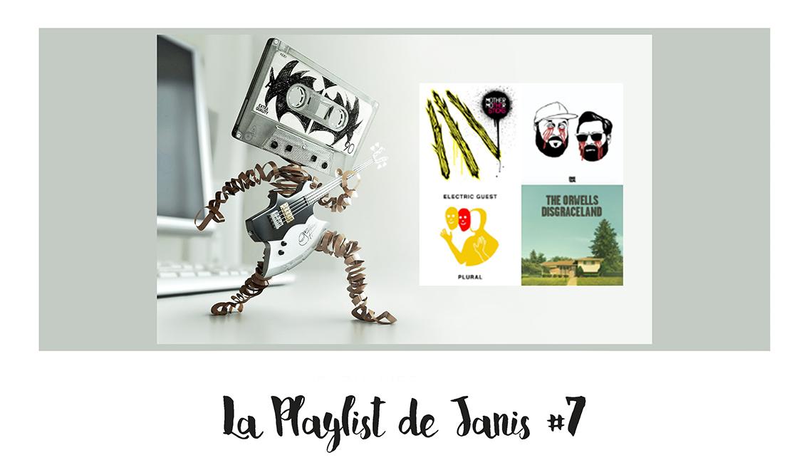 La playlist de Janis #7 – Nouveautés janvier, février 2017