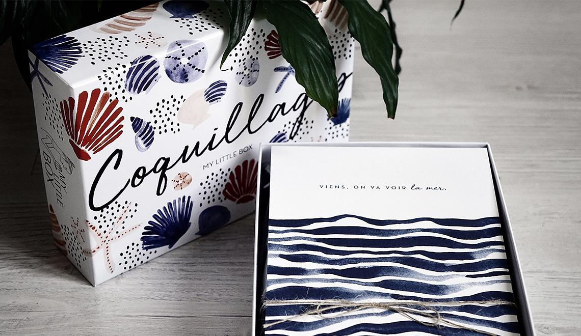 My Little Box – Juillet 2017 – Coquillages … (l'histoire d'un naufrage)