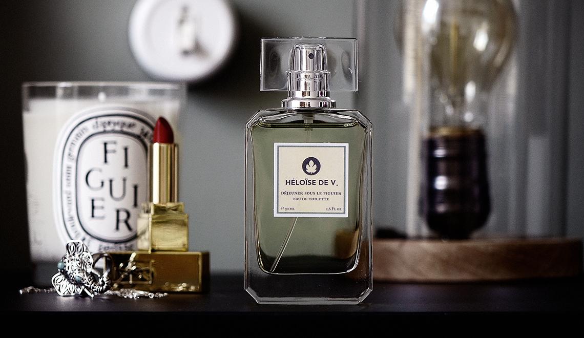 Le joli parfum sous les figuiers d'Héloïse de V.   – concours –