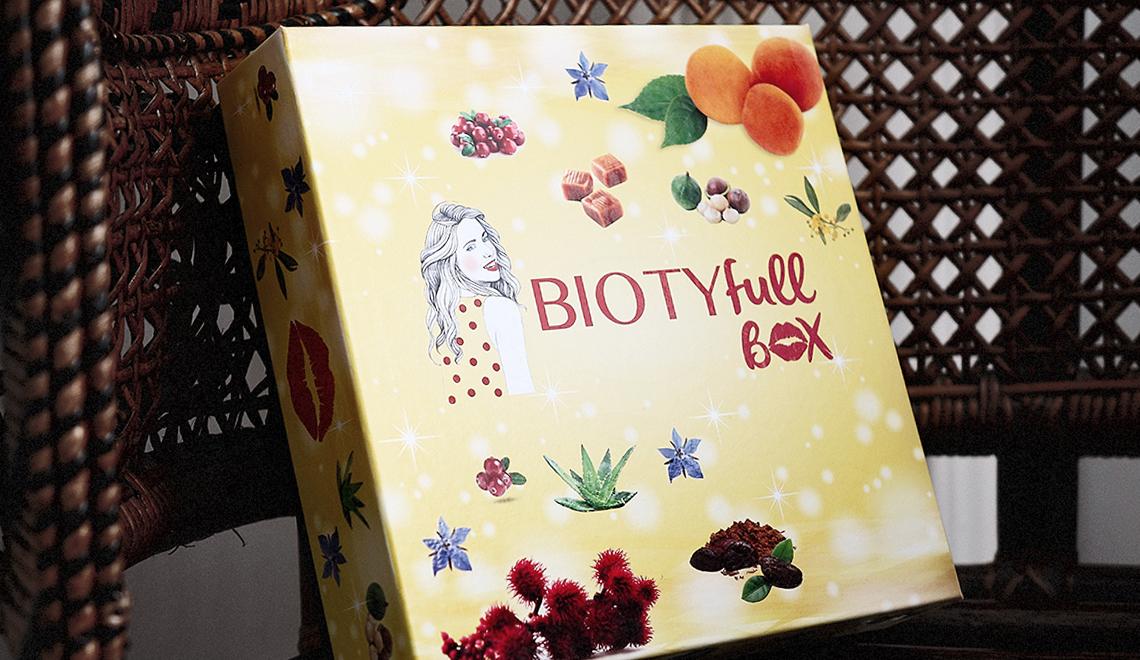 BIOTYfull Box – Novembre 2017 – «L'éclatante»