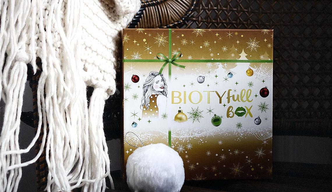 BIOTYfull Box – Décembre 2017 – «La Merveilleuse»