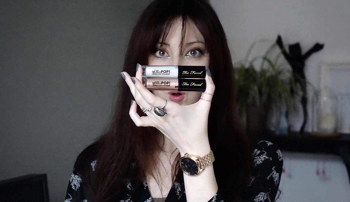« Glitter Pop » de Too Faced – l'eyeliner pailleté