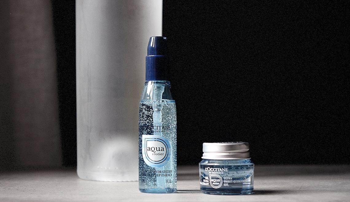 Aqua Réotier, la nouvelle gamme hydratante signée L'Occitane