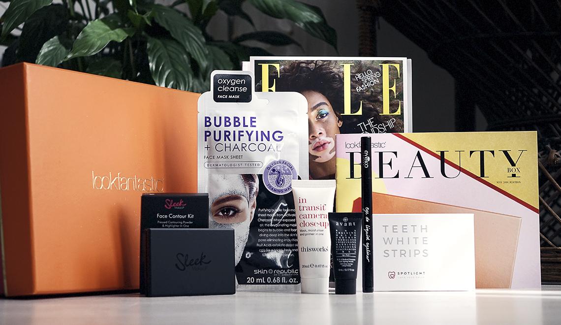 Beauty Box Lookfantastic – Mai 2018