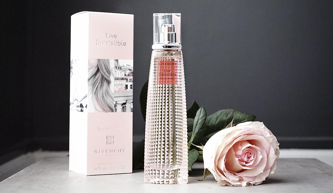 Et si on offrait un parfum pour la fête des mères ?… «Live Irrésistible» by Givenchy