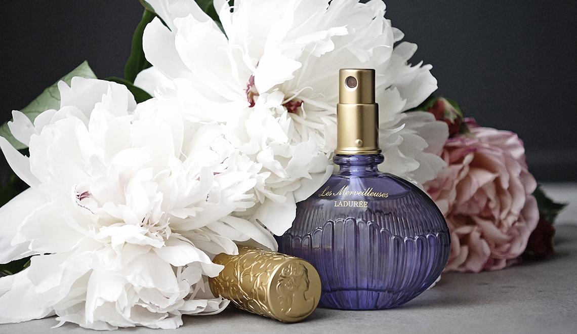 L'Eau de Parfum Merveilleuse signée Ladurée