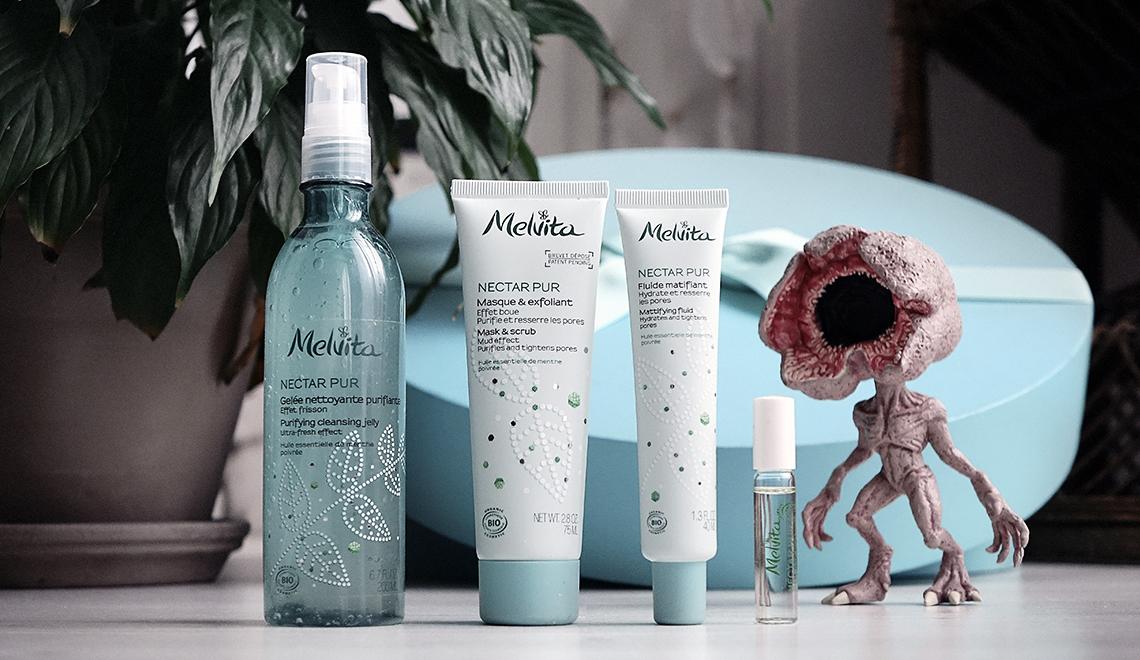 Une gamme pour les peaux à imperfections, mixtes à grasses : «Nectar Pur» de Melvita