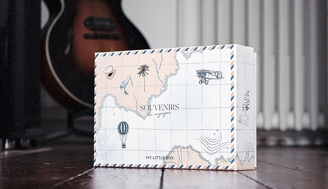 My Little Box – Août 2018 (la vraie !) – «Souvenirs de Voyages»