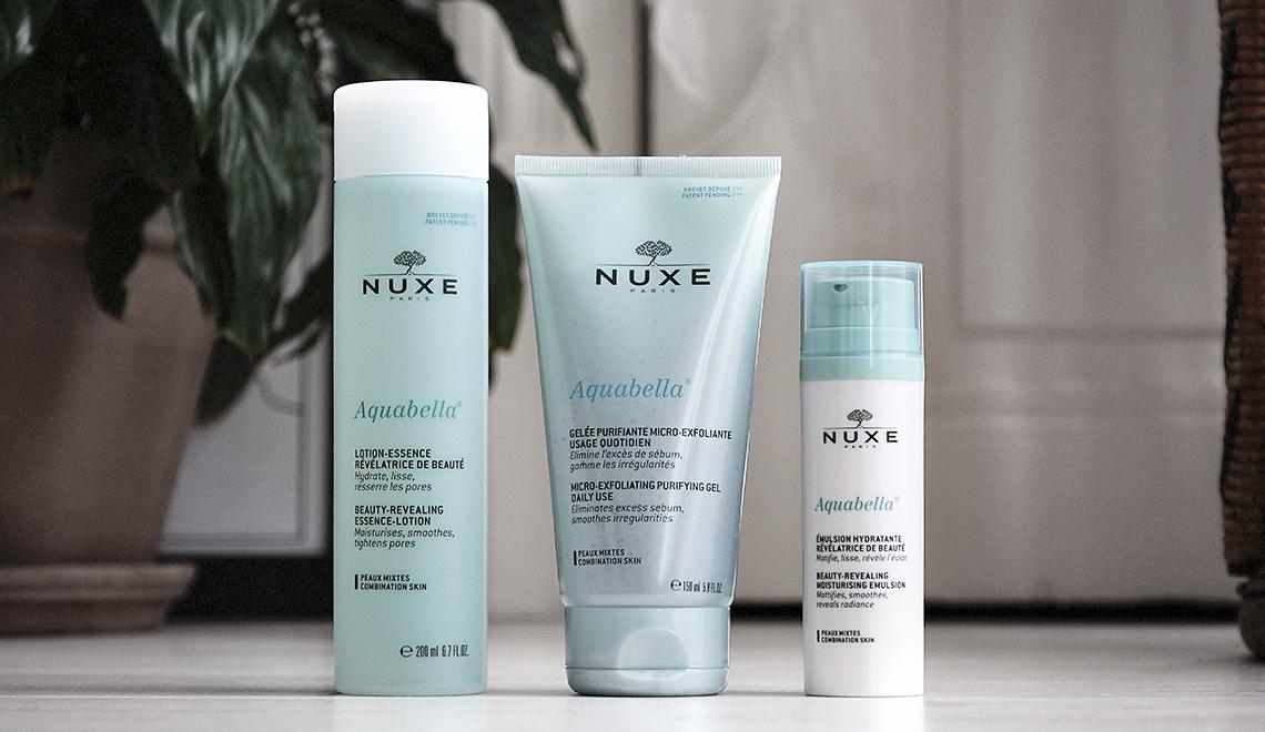«Aquabella» : la gamme Skincare pour peaux mixtes ou grasses, signée Nuxe