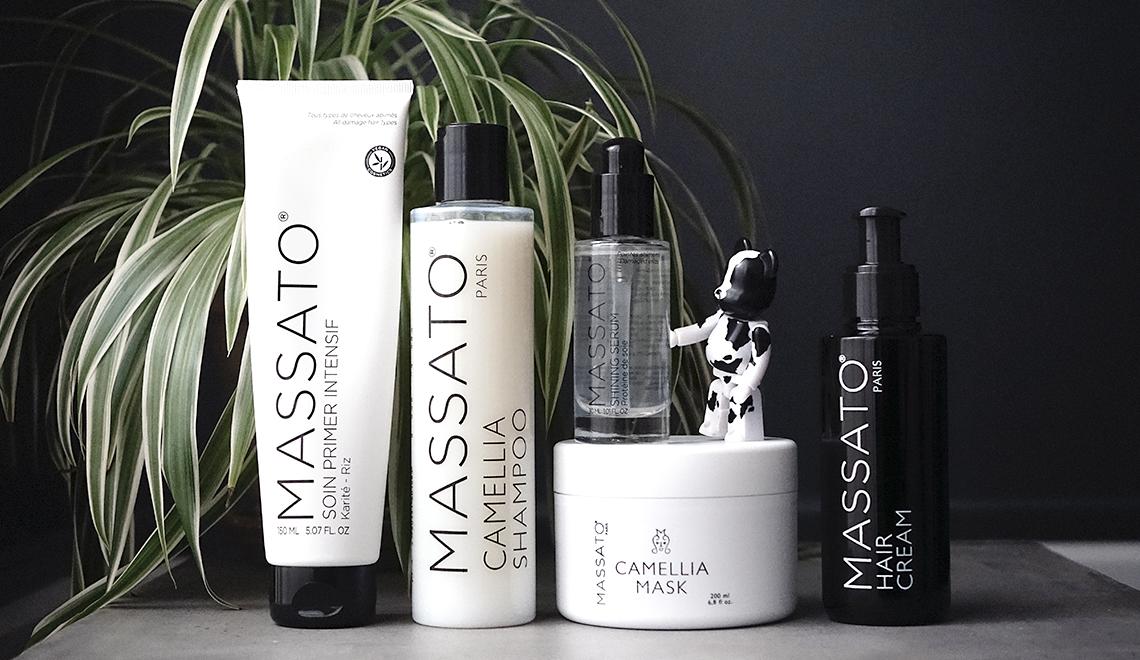 Produits Vegan pour cheveux de paille par le coiffeur Massato (+ concours)