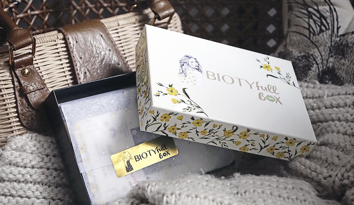 BIOTYfull Box, édition maquillage – Octobre 2018