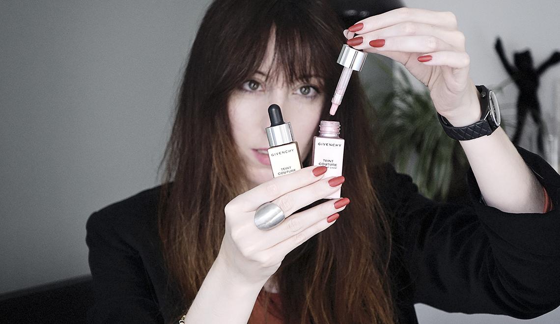Ma nouvelle passion pour les enlumineurs liquides avec «Teint Couture» de Givenchy