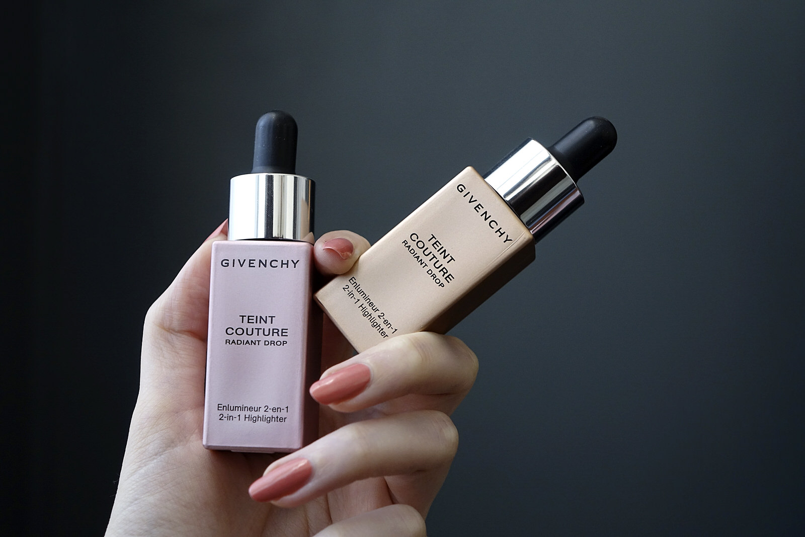givenchy, enlumineur, teint couture, radiant drop, highlighter liquide, beauté, beauty, makeup, maquillage