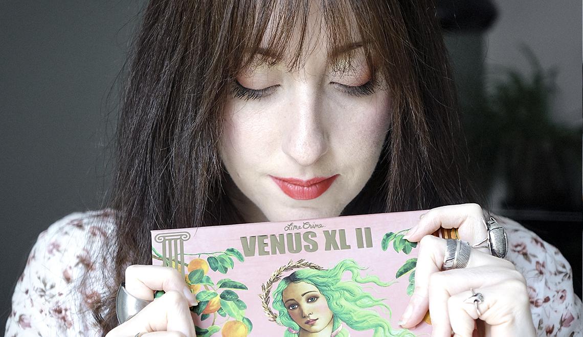 La nouvelle palette «Venus XL II» de Lime Crime, mon coup de coeur printanier