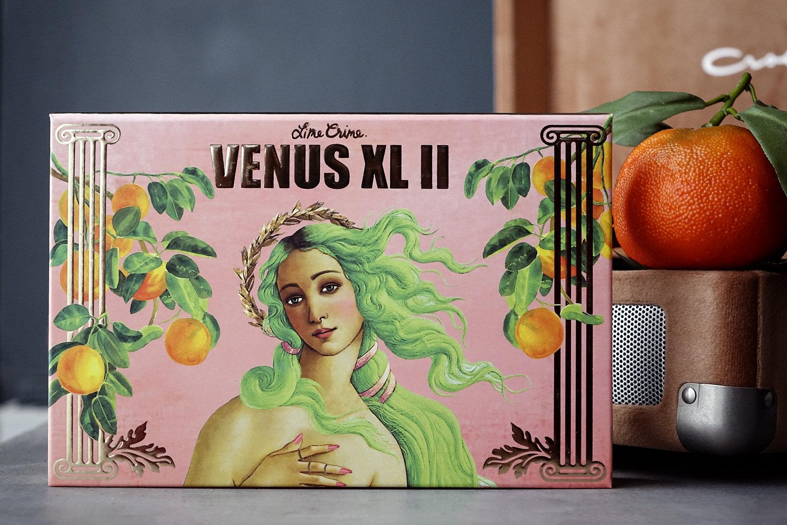 La palette d'ombres à paupières Venus XL II de Lime Crime