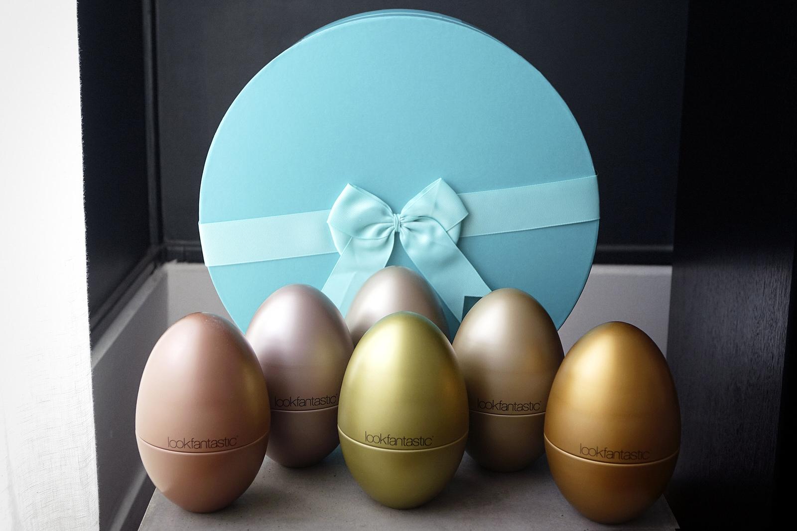 Le contenu du beauty egg de lookfantastic pour pâques 2019