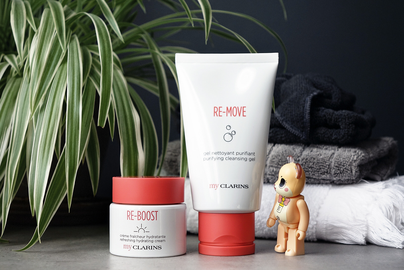 La nouvelle gamme My Clarins re-move et re-boost