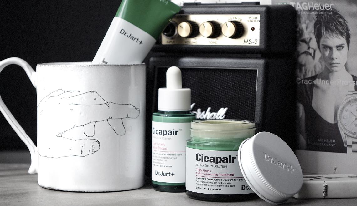 La gamme Cicapair du Dr Jart + contre les rougeurs
