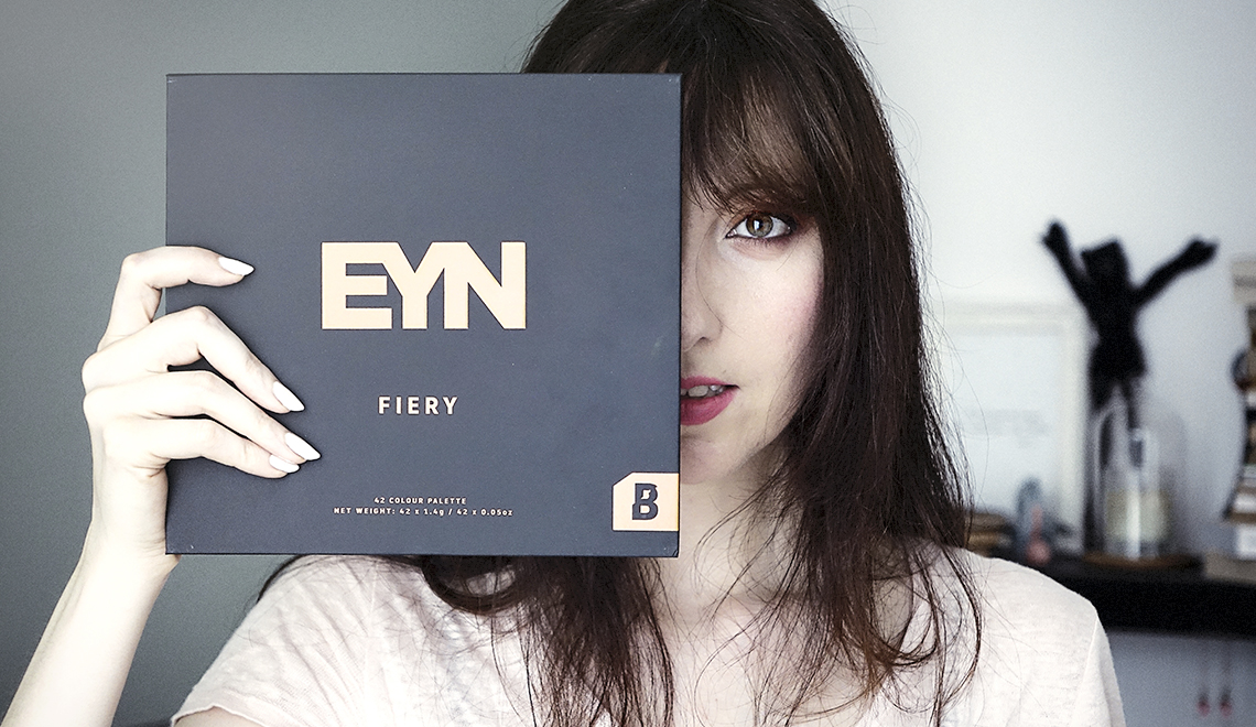La palette EYN Fiery de Beauty Bay