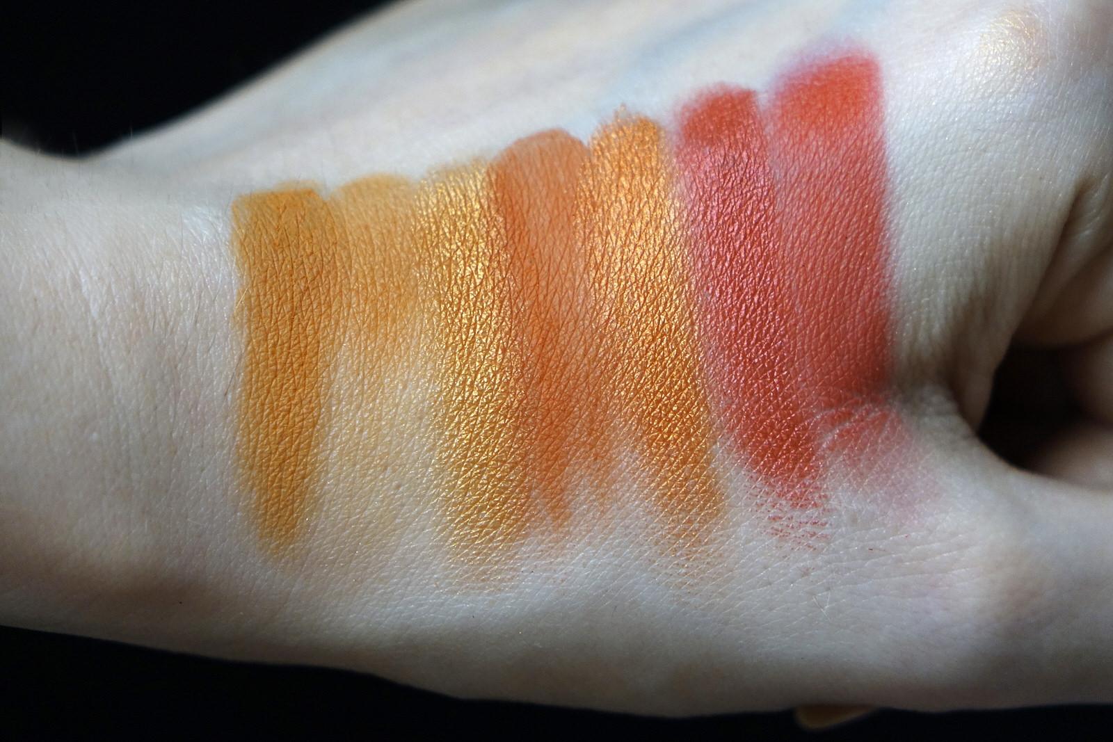 La palette EYN Fiery de Beauty Bay