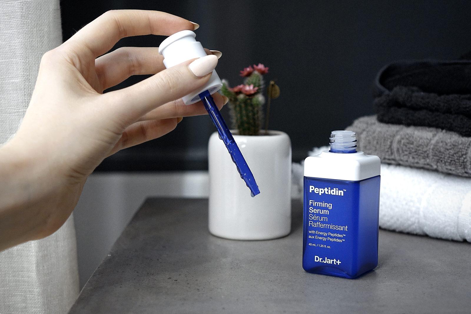 Les 2 sérums du Dr Jart+ Peptidin, firming serum et radiance serum