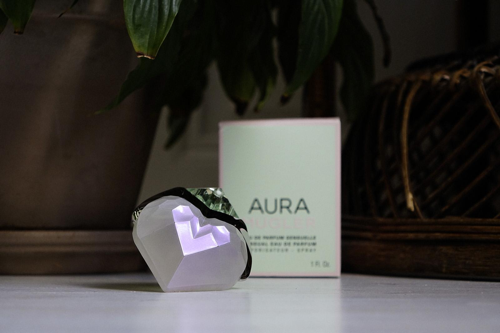 Le parfum Aura de Mugler