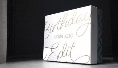 Contenu de la Beauty Box Lookfantastic de septembre 2019 - Birthday edition