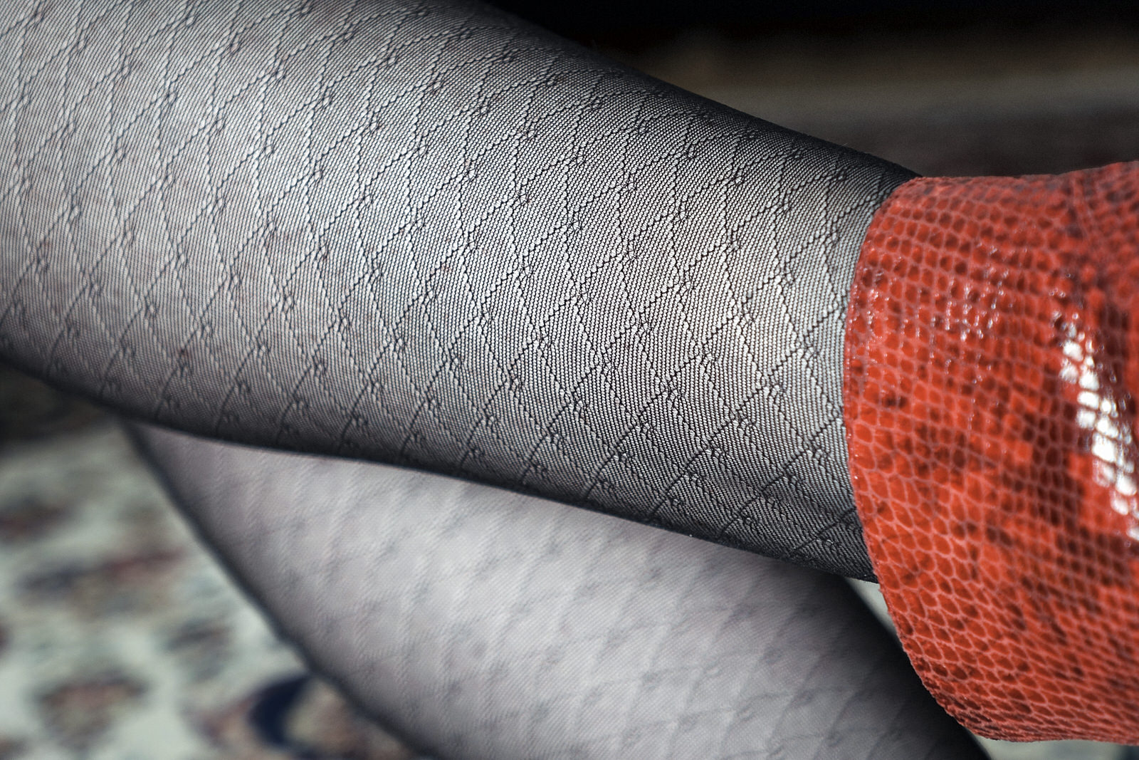 Les collants de la Gambettes Box d'octobre 2019