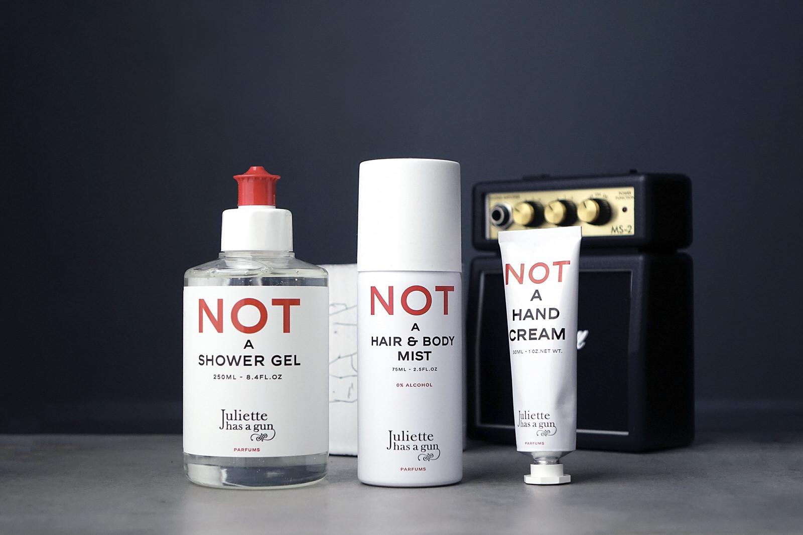 Le nouveau parfum Not a Perfume Superdose de Juliette has a gun