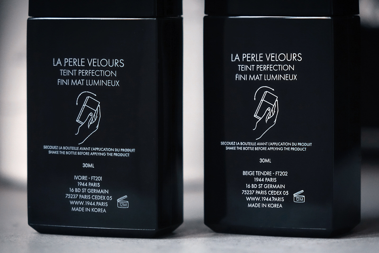 """Le nouveau fond de teint """"Perle Velours"""" de 1944 Paris"""