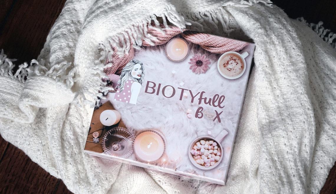 Le contenu de la Biotyfull Box de novembre 2019