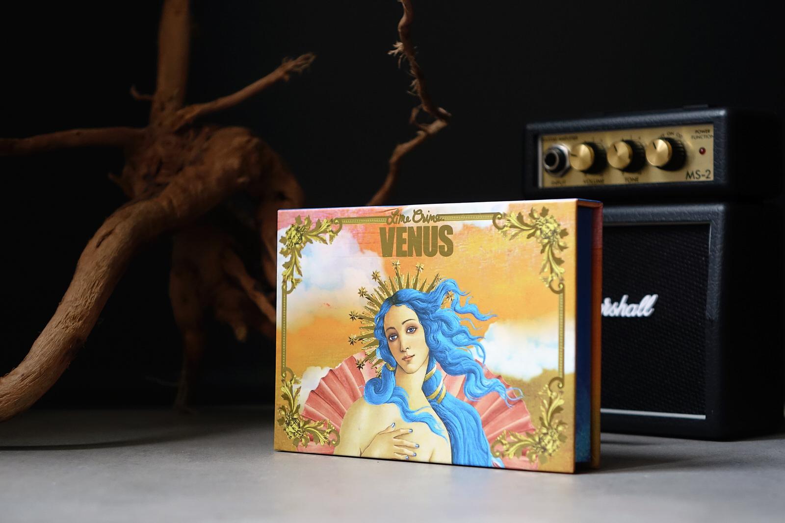 La palette Venus I de Lime Crime