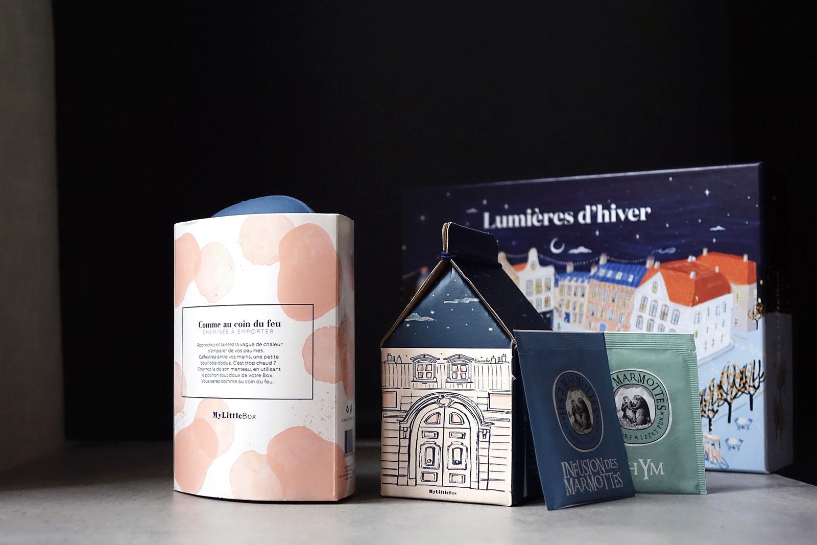 Le contenu de My Little Box de novembre 2019, lumières d'hiver