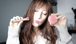 Les nouveautés makeup de chez Clarins, blush et rouge à lèvres