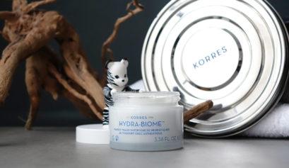 Le masque Hydra Biome de Korres