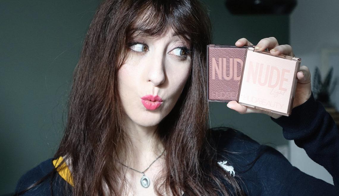 les palettes «Nude» de Huda Beauty – le test