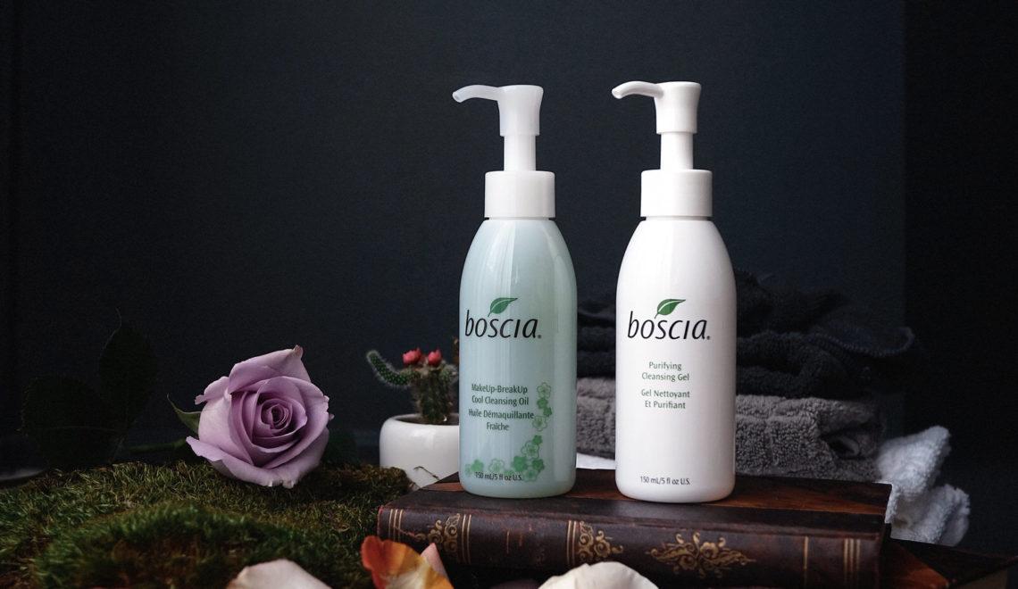 Les soins nettoyants visage Boscia – mon avis