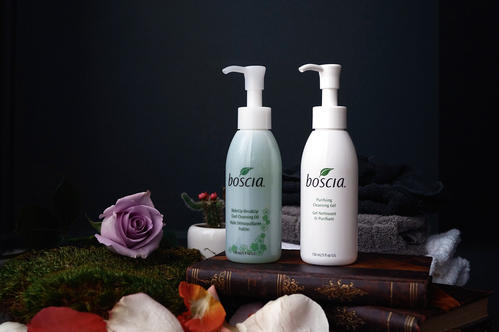 Boscia, les soins nettoyants visage