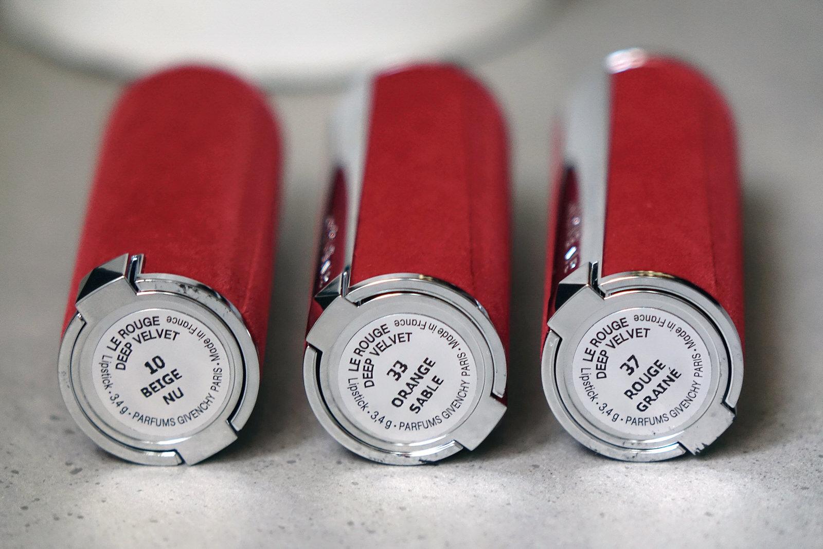 Coffret Le Rouge Collection de Givenchy, swatches et avis