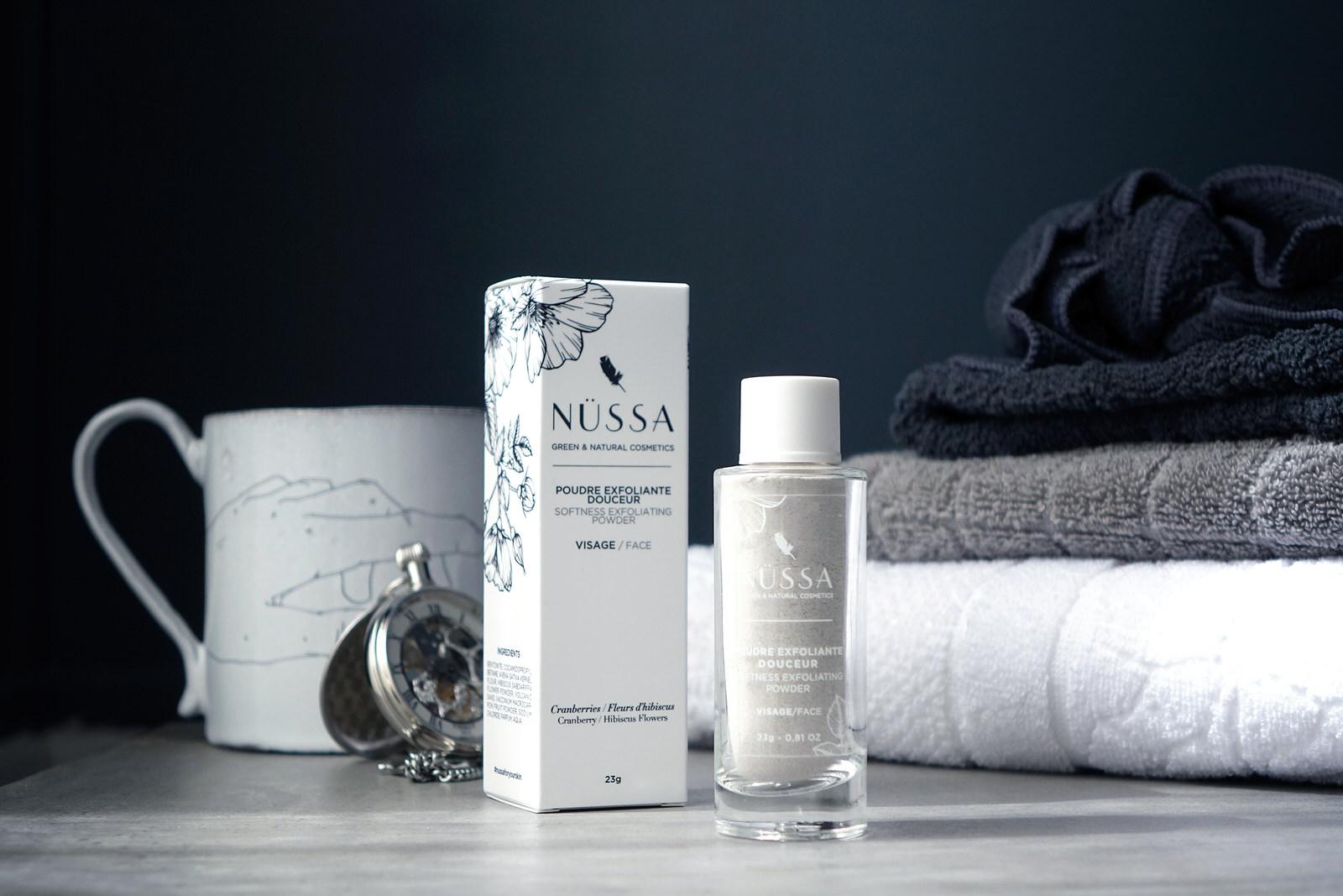 Test et avis sur les soins skincare Nussa