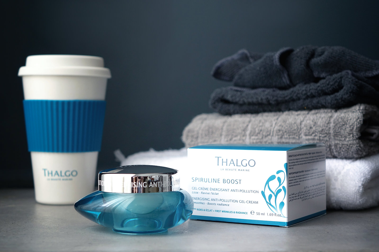 La nouvelle gamme In & Out Spiruline Boost de Thalgo