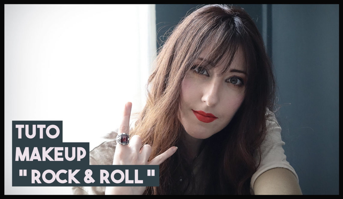 Tuto makeup rock & roll