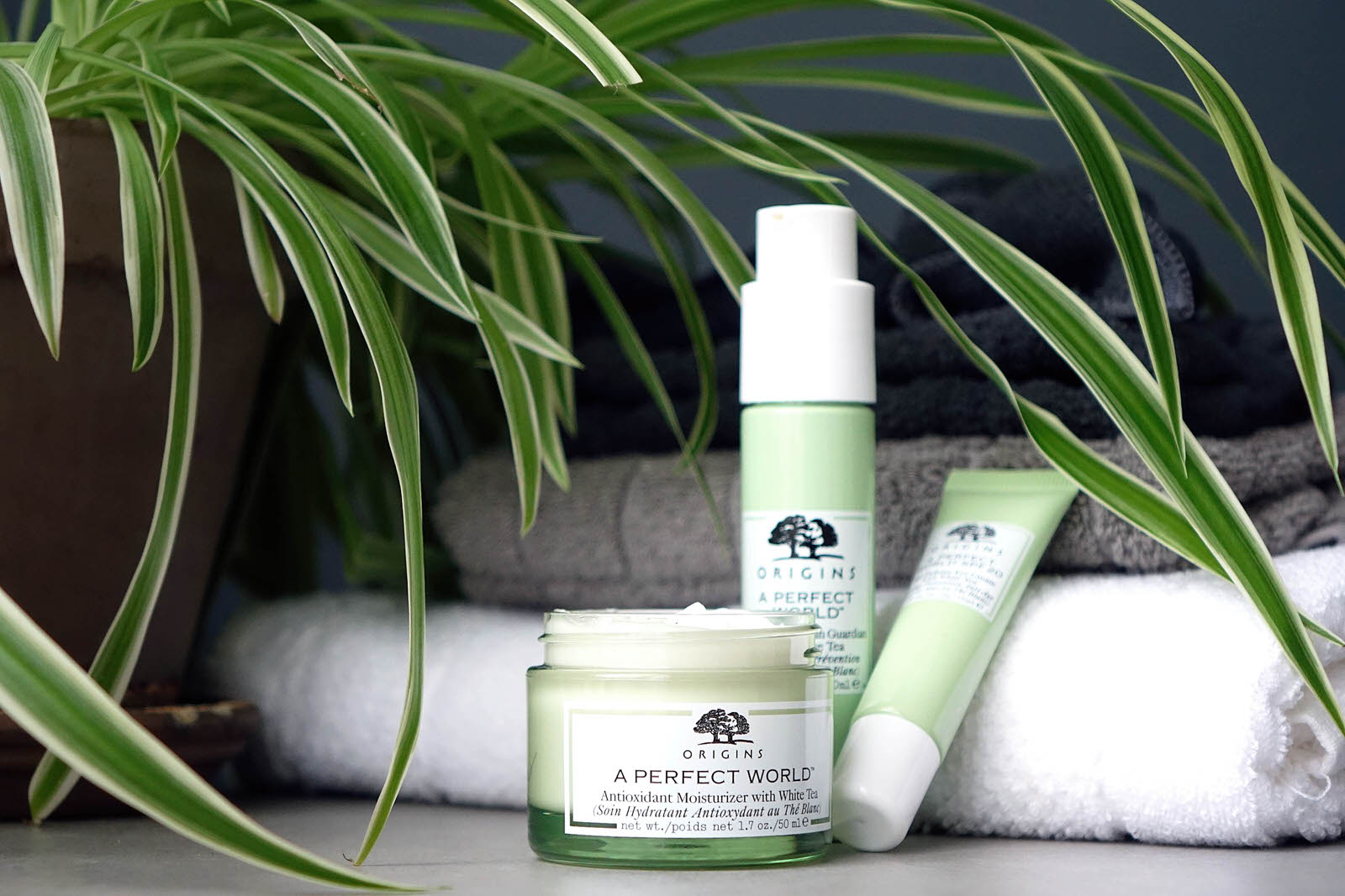 "La gamme ""A Perfect World"" de chez Origins"