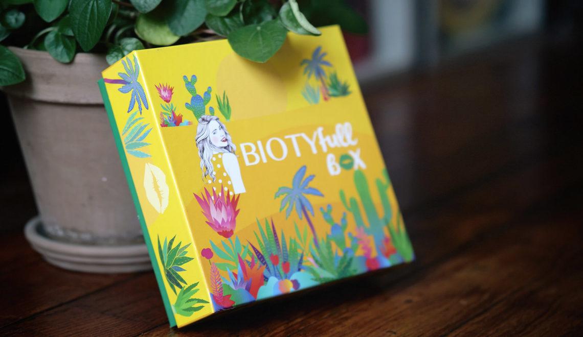 Le contenu de la BIOTYfull Box d'aout 2020