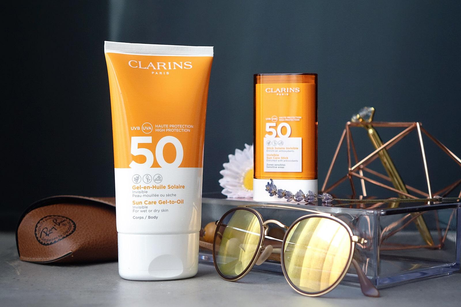La gamme solaire de chez Clarins